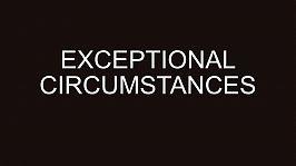 Niklas Goslar: ExceptionalCircumstances